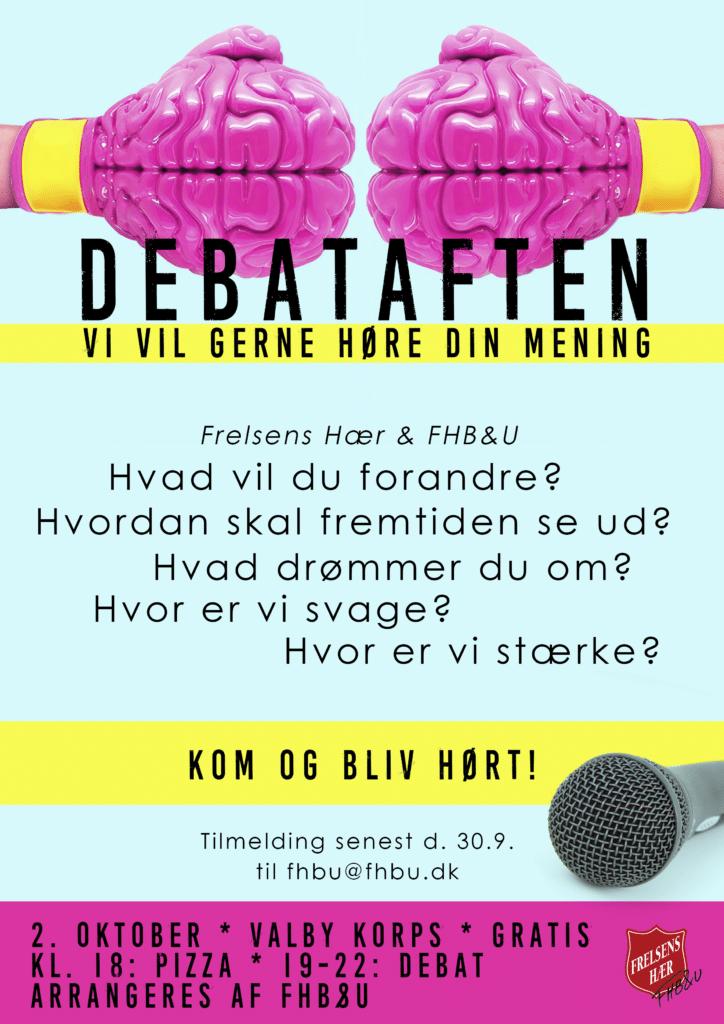 Plakat Debataften