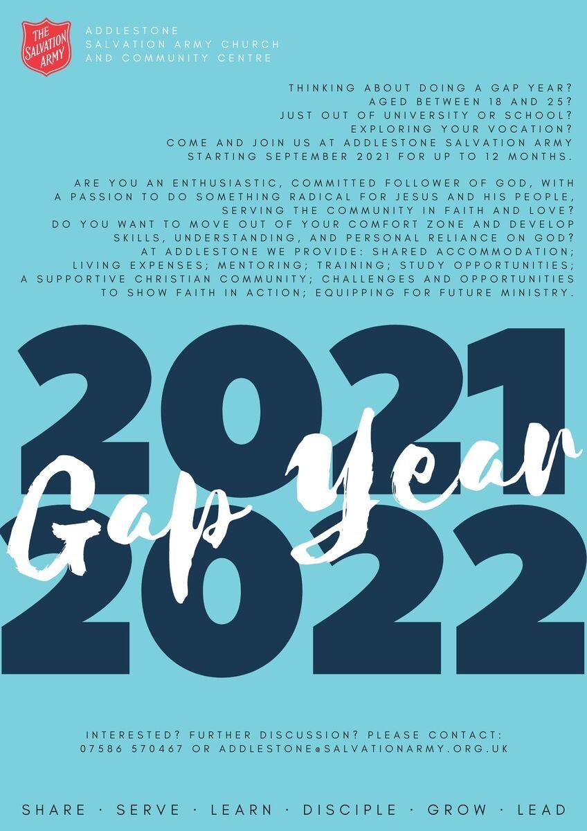 Gap Year 2122