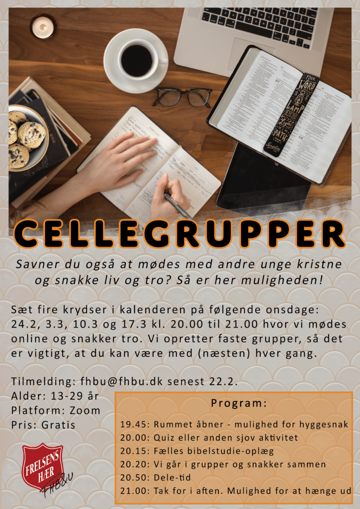 Cellegrupper plakat 2
