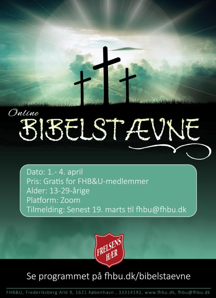 Plakat Bibelsstævne 21