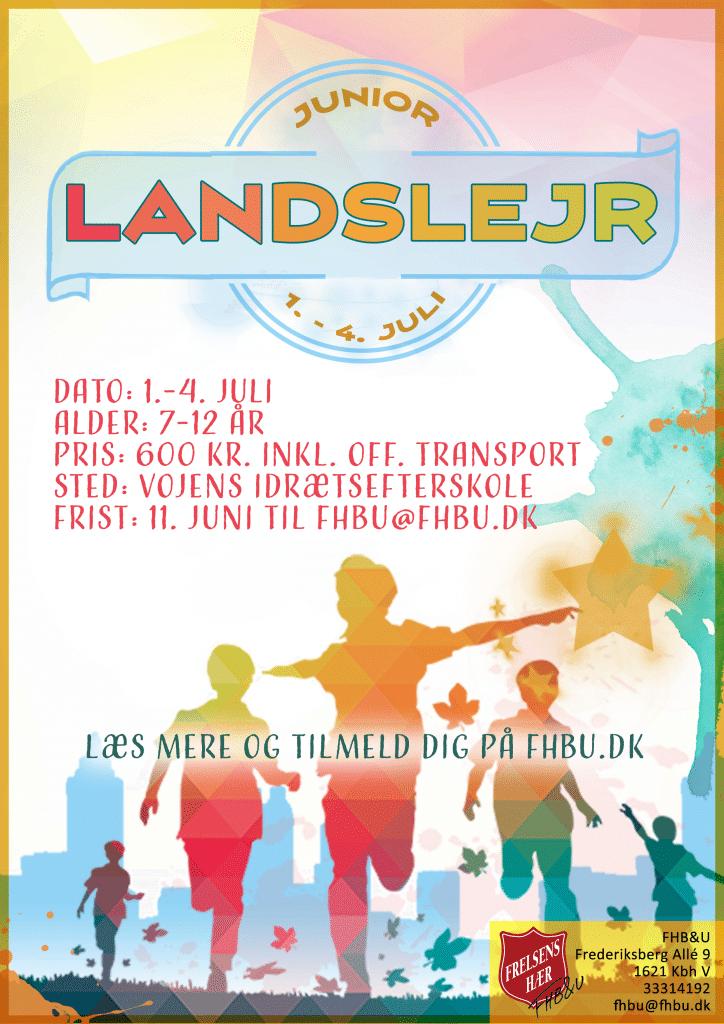 Plakat juniorlandslejr