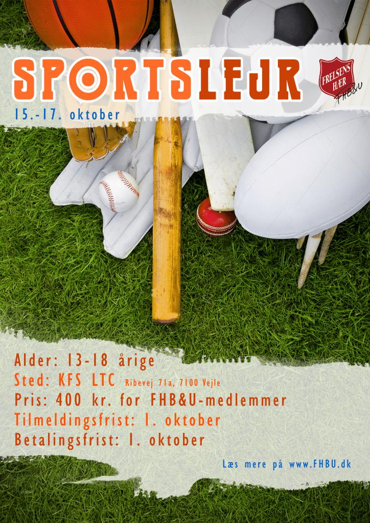 Sportweekend plakat